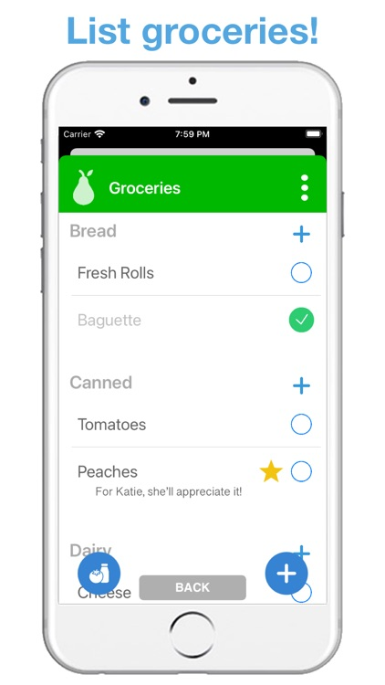 Life Lists: List Organizer screenshot-4