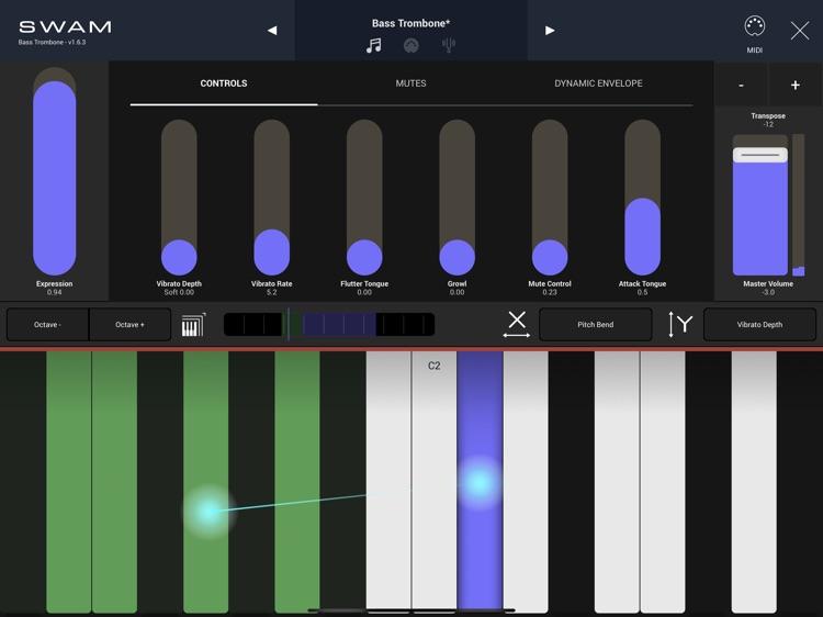 SWAM Bass Trombone screenshot-8