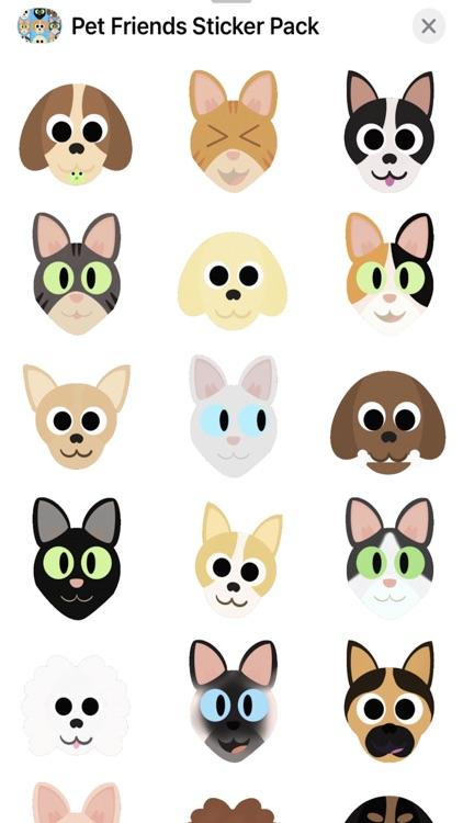 Pet Friends Sticker Pack screenshot-3