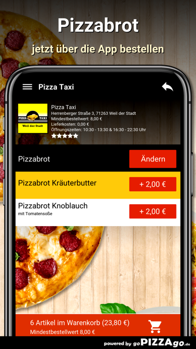 Pizza Taxi Weil der Stadt screenshot 5