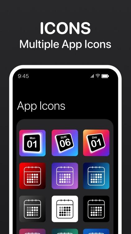 Calendar Widget - Date Widgets screenshot-6