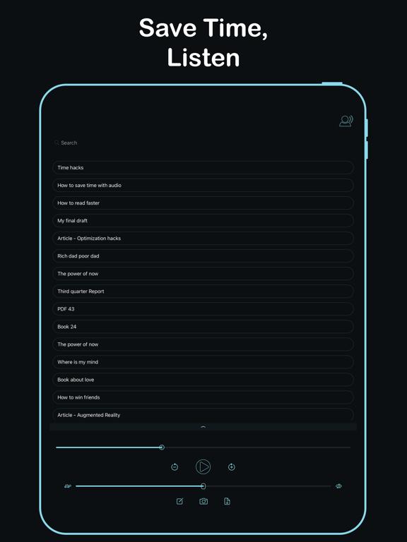 Listen - Text To Speech screenshot 8