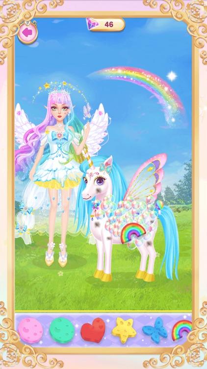 Princess unicorn dress up game screenshot-6