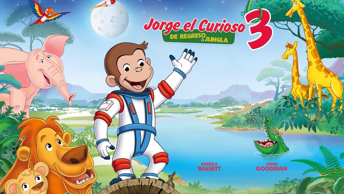 Resultado de imagen para jorge el curioso 3 de regreso a la jungla