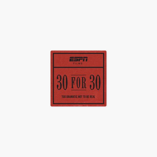 ESPN Films: 30 for 30, Vol  1