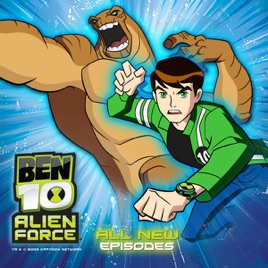 ben 10 alien force episodes