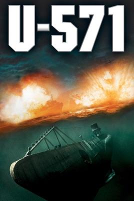 Poster of U-571 2000 Full Hindi Dual Audio Movie Download BluRay 720p