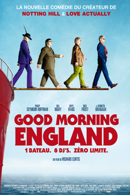 Richard Curtis - Good morning England illustration