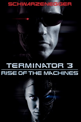 Poster of Terminator 3: Rise of the Machines 2003 Full Hindi Dual Audio Movie Download BluRay 720p