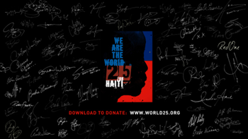 Artists for Haiti We Are the World 25 for Haiti music review