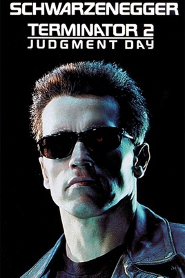 Poster of Terminator 2: Judgment Day 1991 Full Hindi Dual Audio Movie Download BluRay 720p
