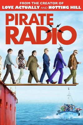 Richard Curtis - Pirate Radio  artwork