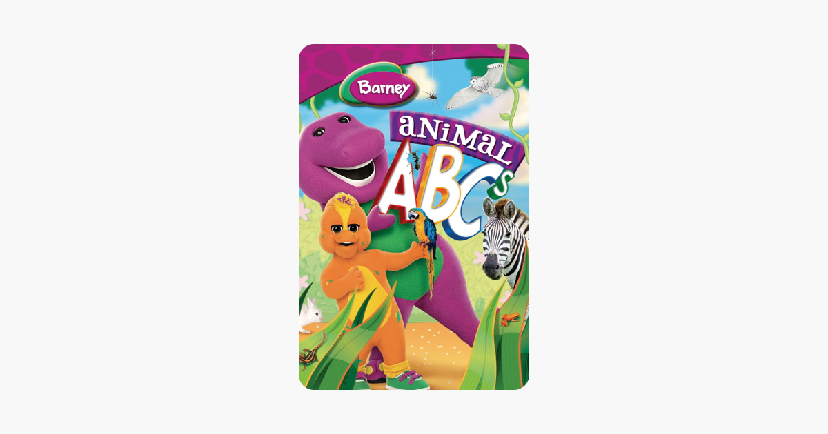 Barney Animal Abcs On Itunes