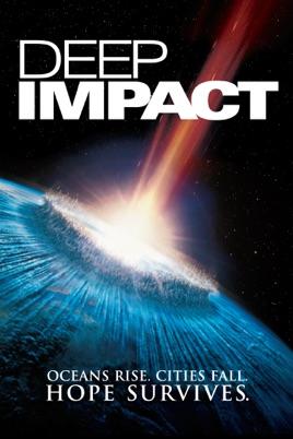 Poster of Deep Impact 1998 Full Hindi Dual Audio Movie Download BluRay 720p