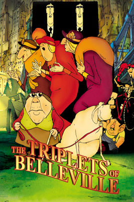 Sylvain Chomet - The Triplets of Belleville  artwork