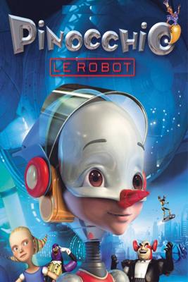 Daniel Robichaud - Pinocchio le robot illustration