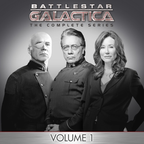 BSG: The Complete Series, Vol. 1 movie poster