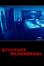 Capa do filme Atividade Paranormal