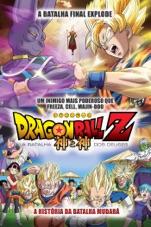 Capa do filme Dragon Ball Z: A Batalha dos Deuse