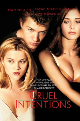 Poster of Cruel Intentions 1999 Full Hindi Dual Audio Movie Download BluRay 720p