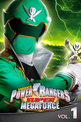 ‎Power Rangers: Super Megaforce - Volume 1 - Earth Fights Back on iTunes