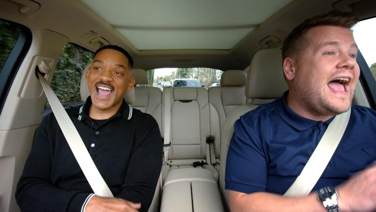 Carpool Karaoke Preview Will Smith James Corden
