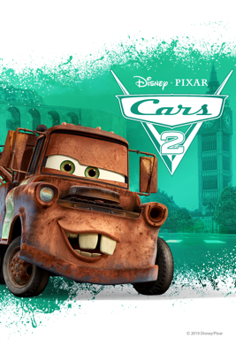 Pixar - Cars 2  artwork