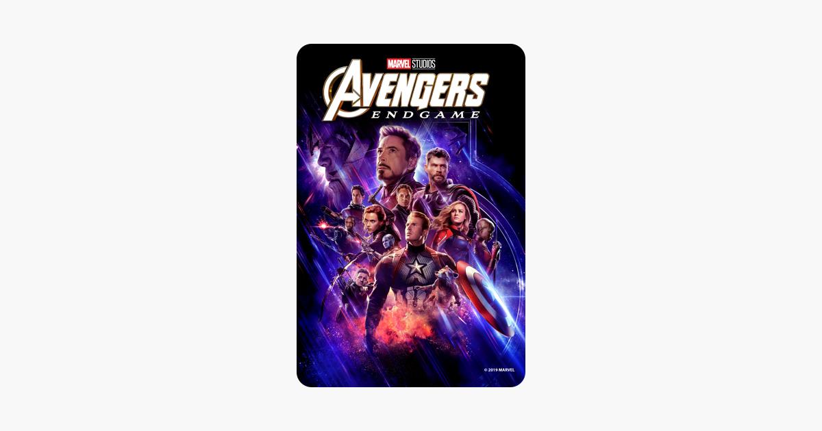 Avengers Endgame On Itunes