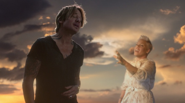 KEITH URBAN & PINK ONE TOO MANY