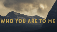 Chris Tomlin - Who You Are To Me (feat. Lady A) [Lyric Video] artwork