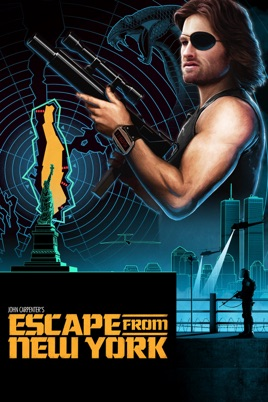 Escape From New York Poster.Escape From New York On Itunes