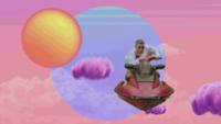 Bad Bunny - 200 MPH Feat. Diplo - Bad Bunny (Video Oficial) artwork