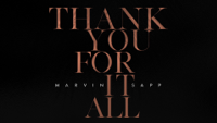 Marvin Sapp - Thank You For It All (Official Lyric Video) artwork