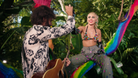 Miley Cyrus - Golden G String (Backyard Sessions) artwork