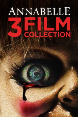 Poster for Annabelle 3-Film Collection