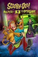 Capa do filme Scooby-Doo! e a Maldição do 13º Fantasma