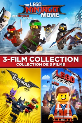 The Lego Ninjago Movie The Lego Batman Movie The Lego Movie 3 Film Collection Itunes Release Date December 12 2017