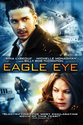 Poster of Eagle Eye 2008 Full Hindi Dual Audio Movie Download BluRay 720p