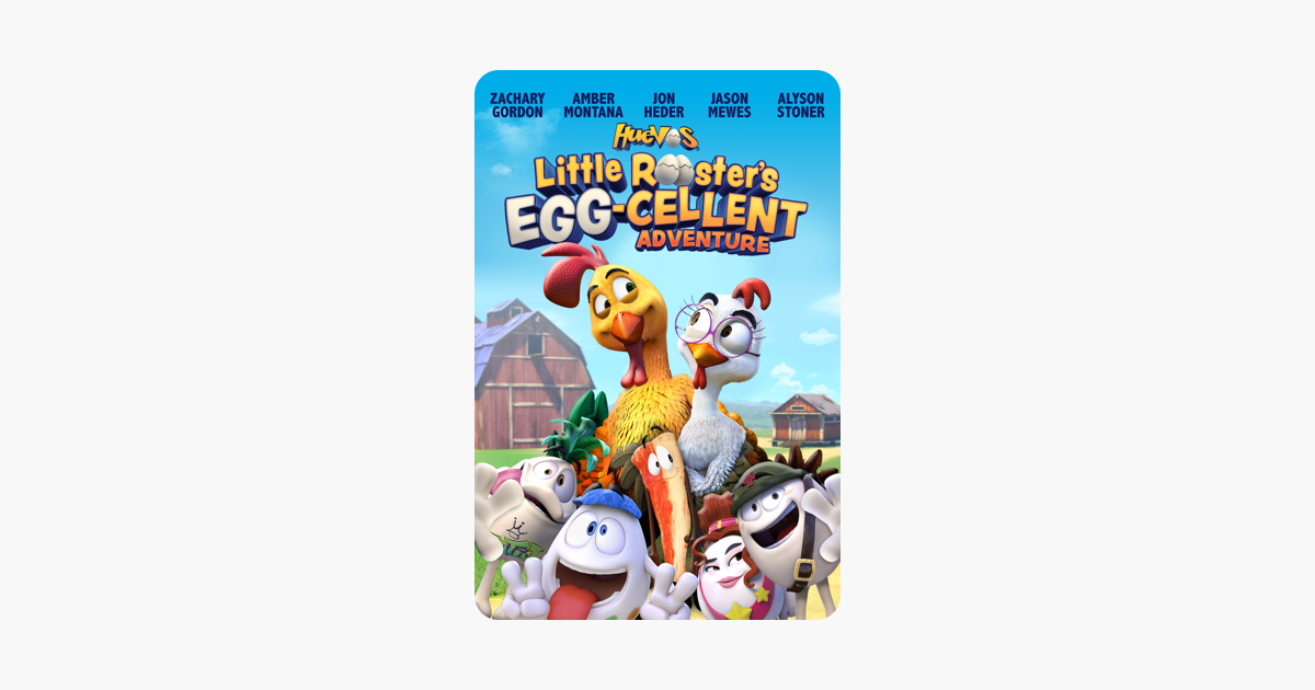 huevos little roosters egg-cellent adventure movie