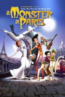 Poster of A Monster in Paris 2011 Full Hindi Dual Audio Movie Download BluRay 720p