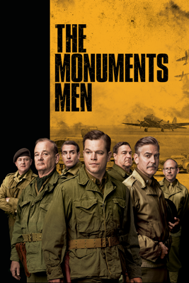 George Clooney - The Monuments Men  artwork