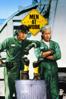 Emilio Estevez - Men At Work (1990)  artwork