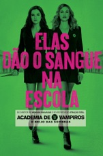 Capa do filme  Vampire Academy - O Beijo das Sombras