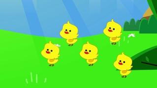 Five Little Ducks - Nursery Rhyme