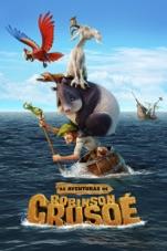 Capa do filme As Aventuras de Robinson Crusoé