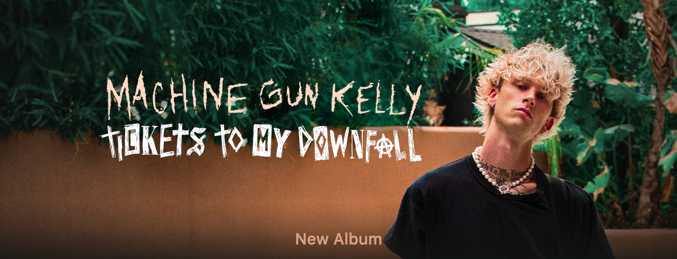 Tickets To My Downfall by Machine Gun Kelly