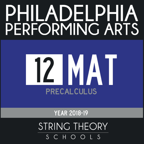 12 MAT: Precalculus 2018-2019 - Free Course by The Philadelphia Performing  Arts Charter School on iTunes U